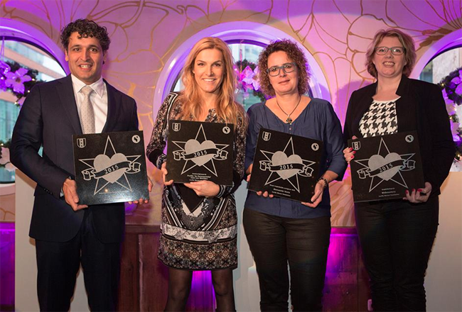 Webmastery wint prijs Business Walk of Fame