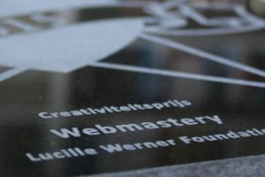 Webmastery wint creativiteitsprijs Lucille Werner Foundation