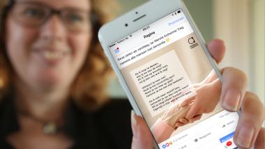 Ontdek de kracht van gedichten op Facebook