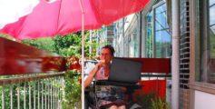 Werken vanuit huis als het héél warm is: onze tips