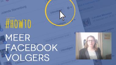 Meer volgers op Facebook: ga niet alleen voor kwantiteit, ook voor kwaliteit