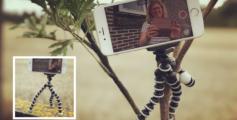 Met een mini selfie tripod maak je overal leuke selfies. Win 'm op Facebook