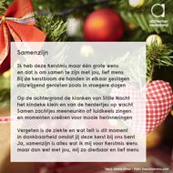 Online kerstkaart Alzheimer Nederland 2016