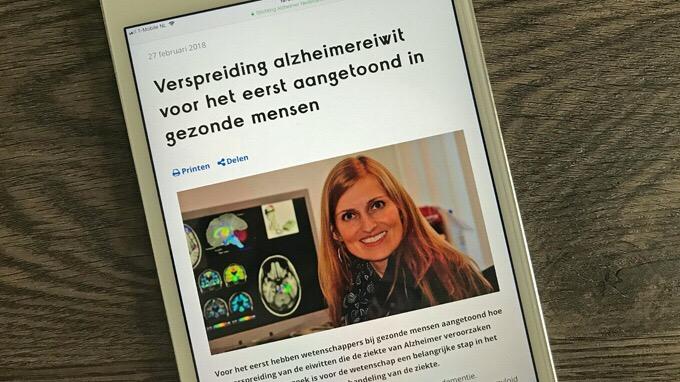 Beeldredactie Alzheimer Nederland