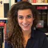 Webcare-medewerker Céline Galama