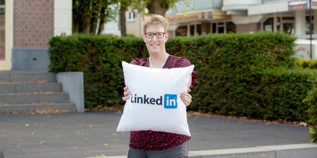 uitnodigfunctie op LinkedIn