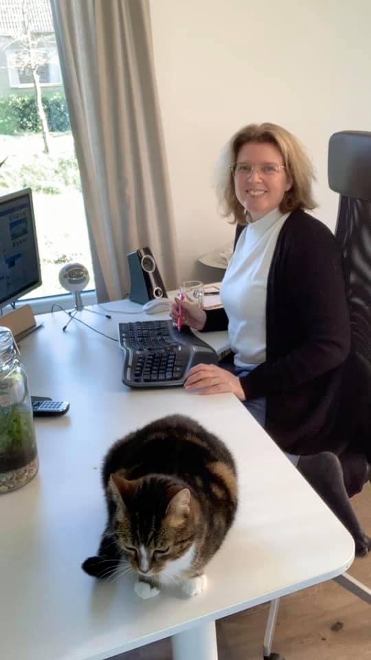 Thuiswerken met je hele organisatie - Margaret