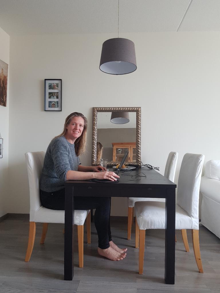 Thuiswerken met je hele organisatie - Sabine