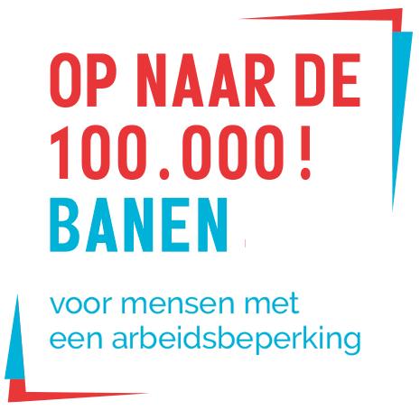 Op naar de 100.000 banen logo
