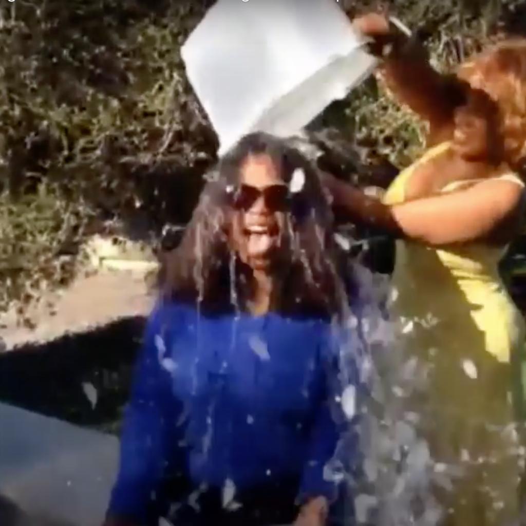 ALS Ice Bucket Challenge Oprah