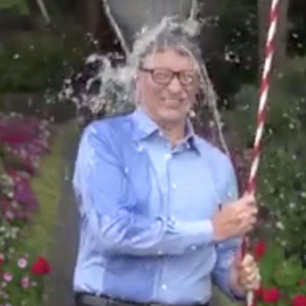 ALS Ice Bucket Challenge Bill Gates