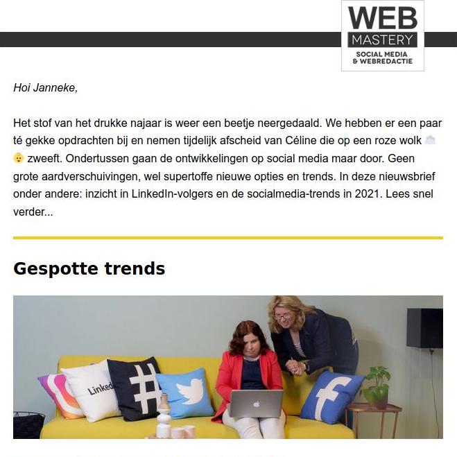 Socialmedia-trends in 2021 screenshot